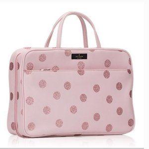 kate spade giana haven lane pink cosmetic case bag
